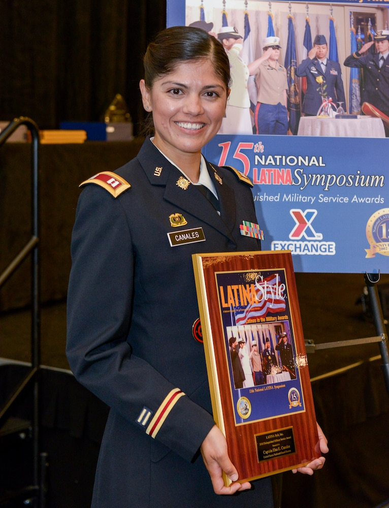 NY Army National Guard Captain recognized by Latina Style Magazine