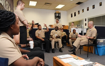 Commander of Navy Recruiting Command Visits New York Stations