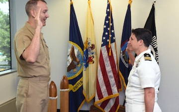 Commander Penny Glover Promotion Ceremony