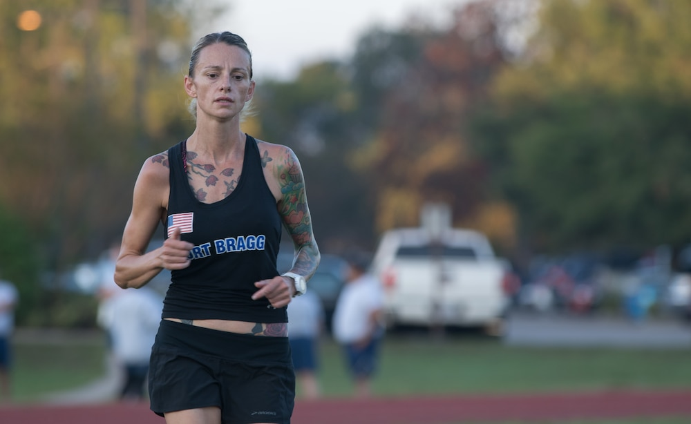 Soldier represents Bragg in ten-miler