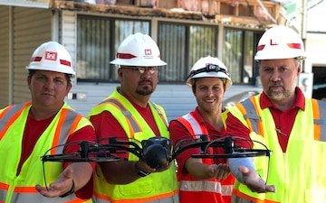 USACE Deploys UAS Team In Support of Operation Blue Roof
