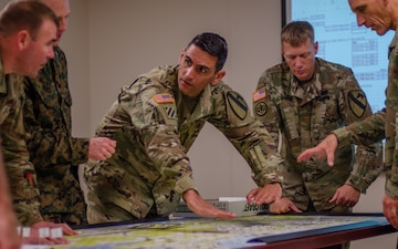 1st Cav planners play games, improve mission-planning skills