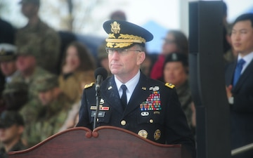 UNC/CFC/USFK Change of Command and Change of Responsibility