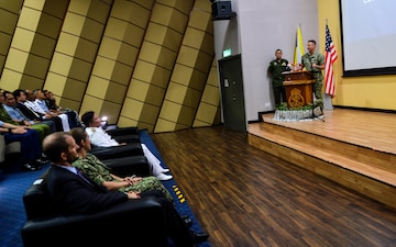 Rear Adm. Joey Tynch Speaks at the CARAT Brunei 2018 Closing Ceremony