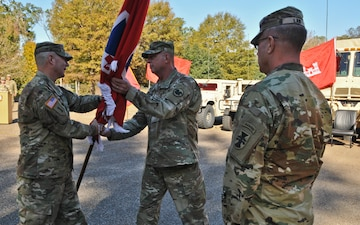 Maj. Gen. Christian says farewell in relinquishment of command ceremony