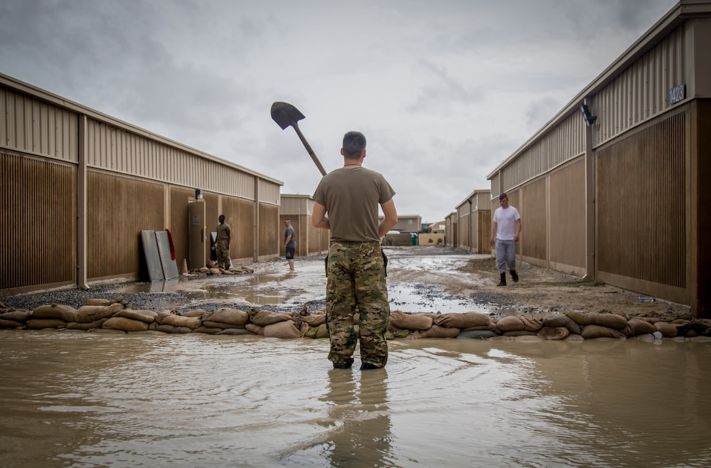 Solrs Respond To Flooding At Camp Arifjan