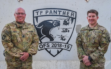 Like Father Like Son: National Guard Soldiers serve, deploy together