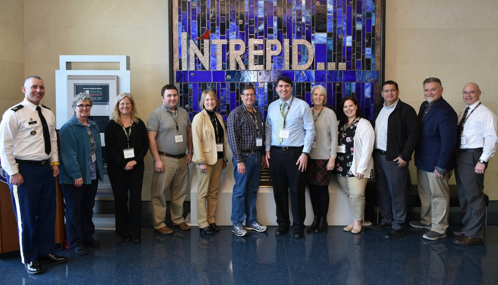 Medical School Advisors Visit the Center for the Intrepid Rehabilitation Facility  in San Antonio, Texas.