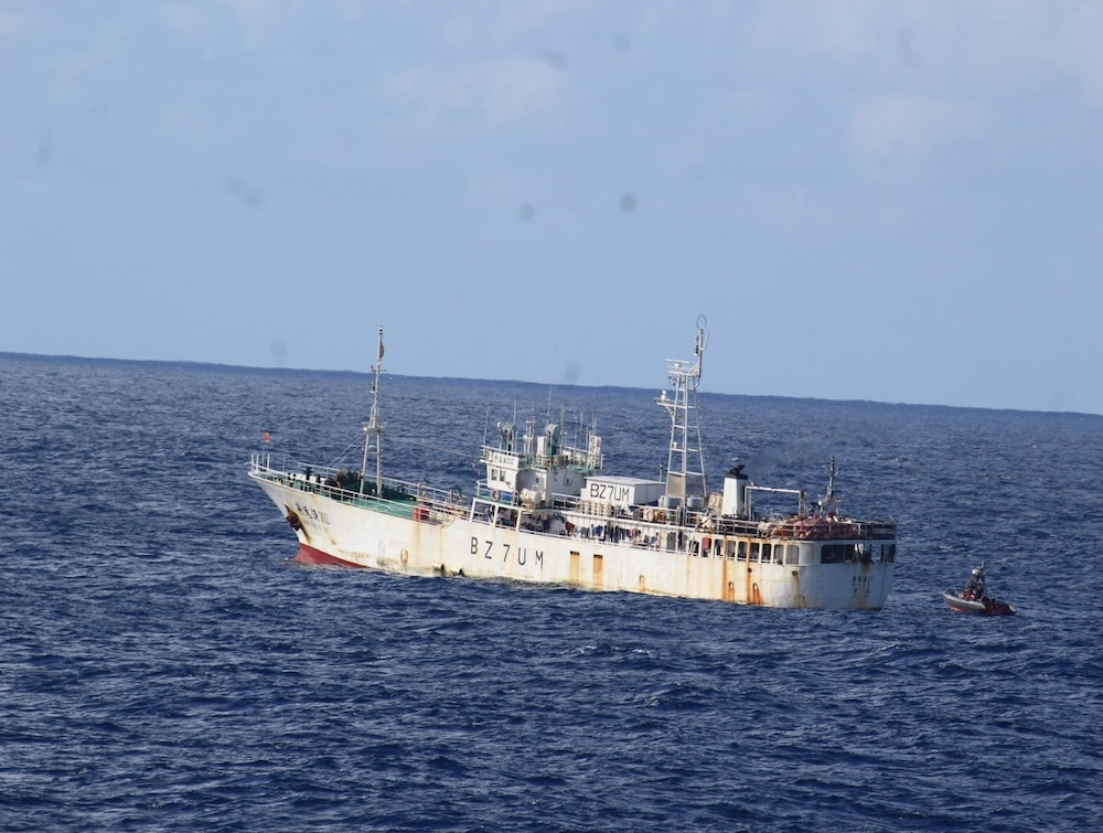Coast Guard patrols South Pacific in support of international fisheries