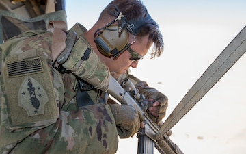 2-137 IN Conducts Aerial Sniper Exercise