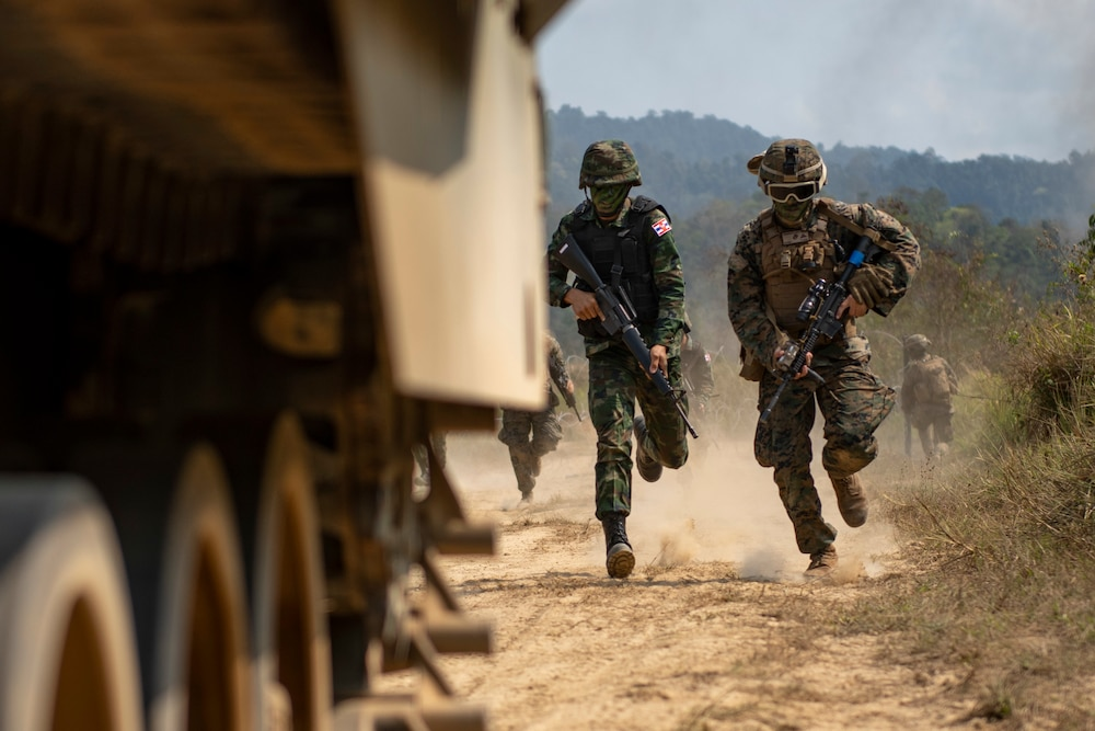 Cobra Gold 19: Royal Thai, US Marines conduct combined arms live-fire exercise
