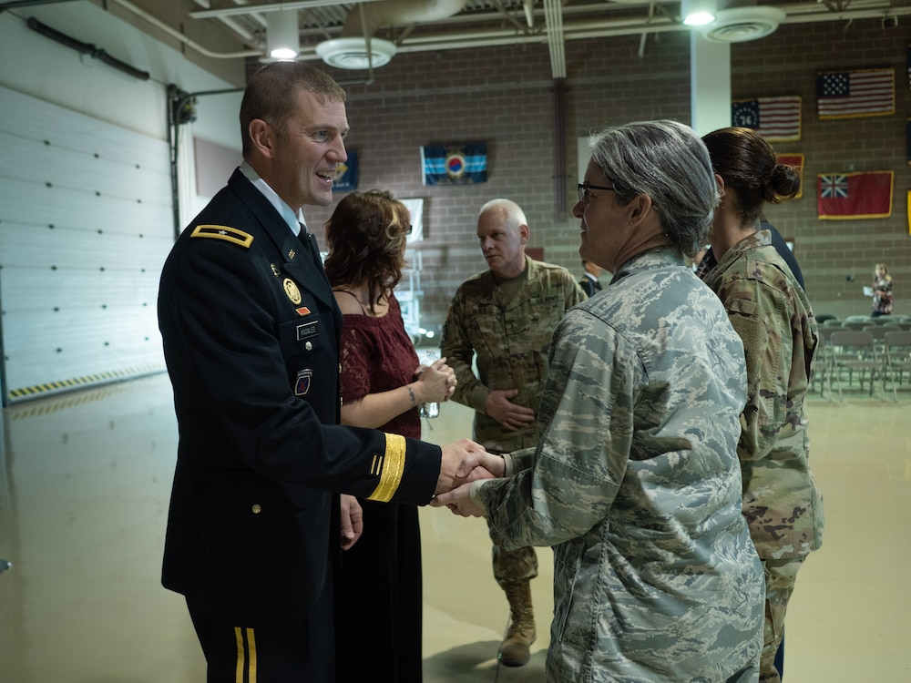 Knowles puts on star to promote to brigadier general