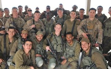 Israeli, U.S. paratroopers train together in Israel