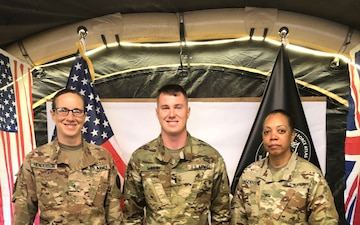 Miller Promoted to First Lieutenant