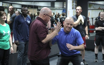 SAAPM Self Defense Class at CAS