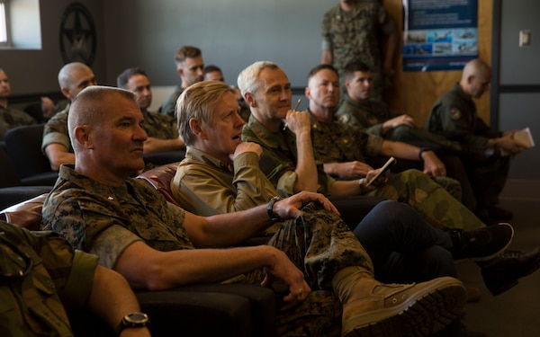 Norwegian ambassador visits Camp Lejeune, Marine Corps Air Station New River