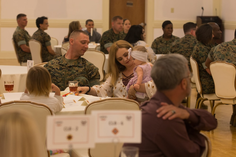 Logistics Marines receive President Volunteer Service Award