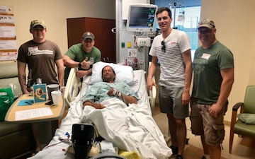 1st Air Cavalry Brigade MEDEVAC Aircrew Saves Injured Hiker