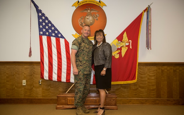 Mrs. Marisa Thresher Awarded Camp Lejeune Military Spouse of the Year Award
