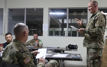 Kentucky Army National Guard Chaplains connect two nations through faith.
