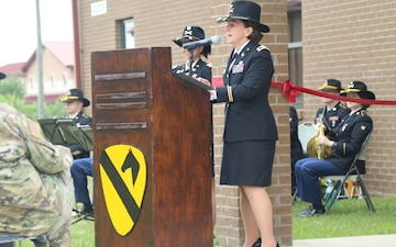 1st Cav Div Courtroom Dedication Ceremony