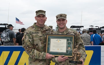 Local Soldier earns Warfighter of the Quarter award