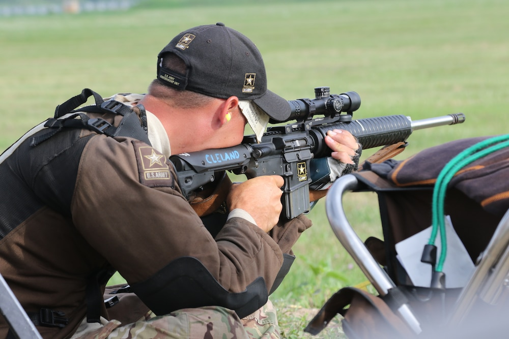 Soldier shoots first-ever perfect score in a High-Power, 80-shot Match