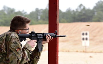 421st CTS Combat Arms team hosts Air Force Rifle Expert in Competition