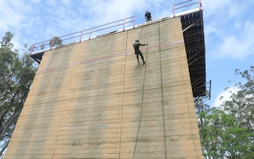 2019 U.S. Army Pacific BWC Rappel Tower