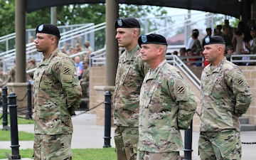 1st Brigade Armored Combat Team Bids Farewell to Their Commander and Welcomes Another.