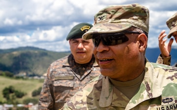 Brigade commander visits troops