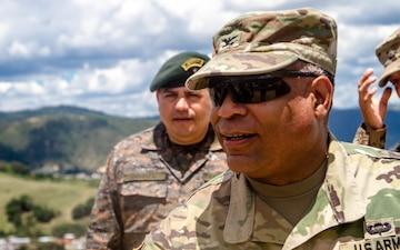 Brigade commander visits troops