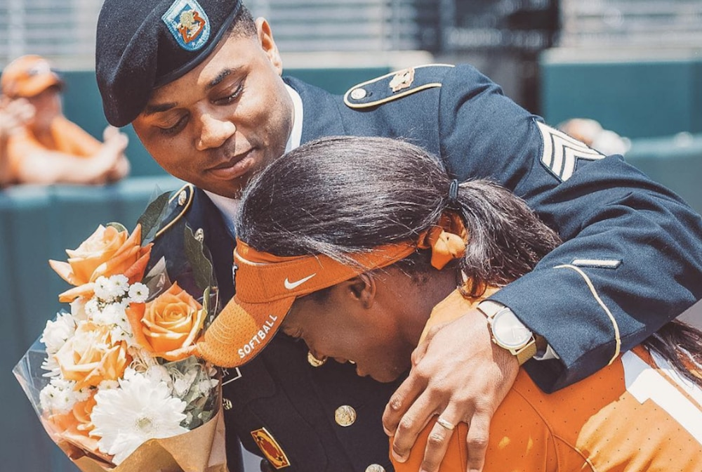 Air Defense Soldier reunites with his sister