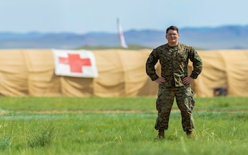 U.S. corpsman participates in international exercise