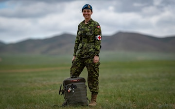 Canadian Army medic participates in international exercise