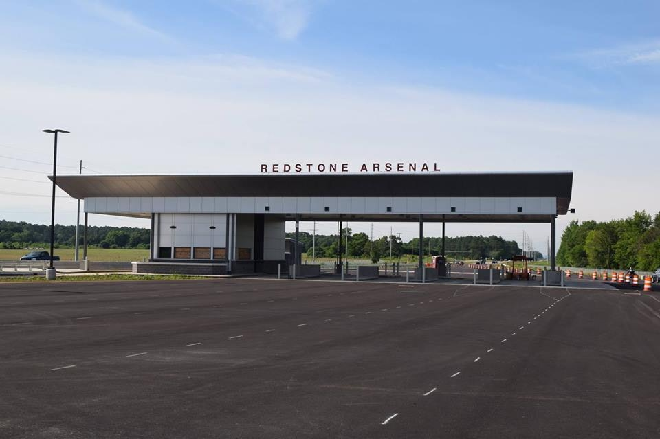 Redstone Arsenal gate