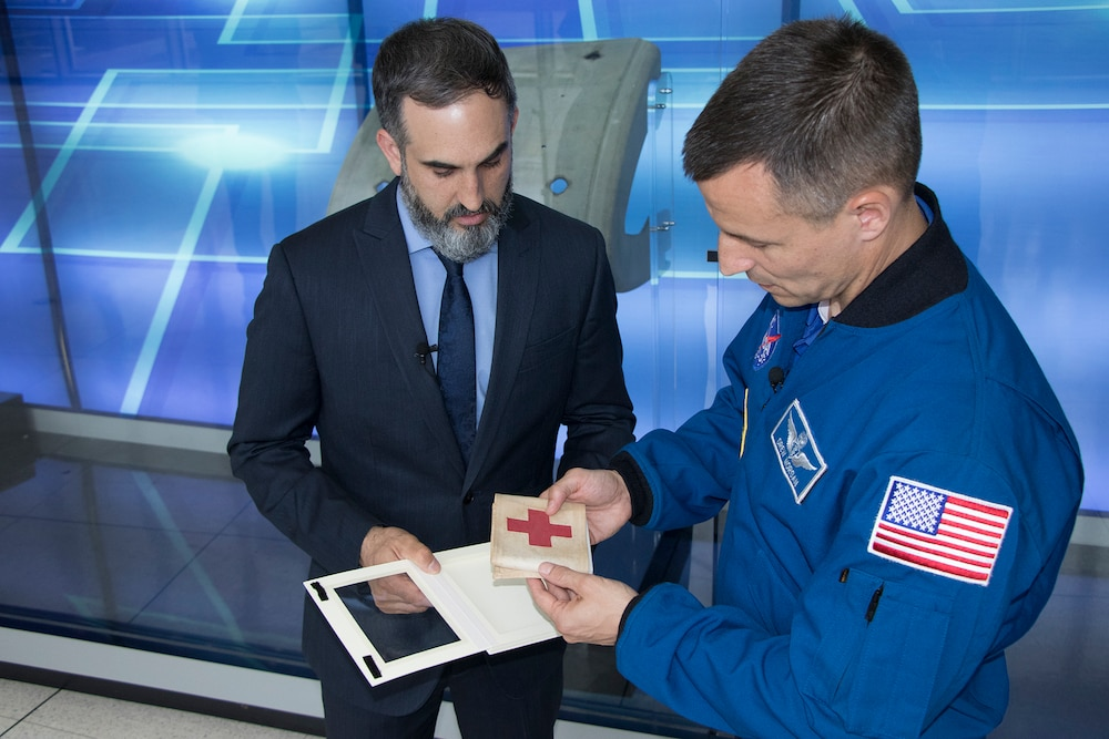 Army Astronaut to take WWII history to space