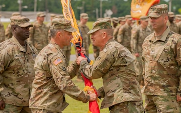 Col. Robert Charlesworth takes over New York Army National Guard's 27th Infantry Brigade Combat Team