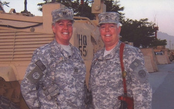 Twin Sisters Enlist Together and Retire Together After 34 Year National Guard Career