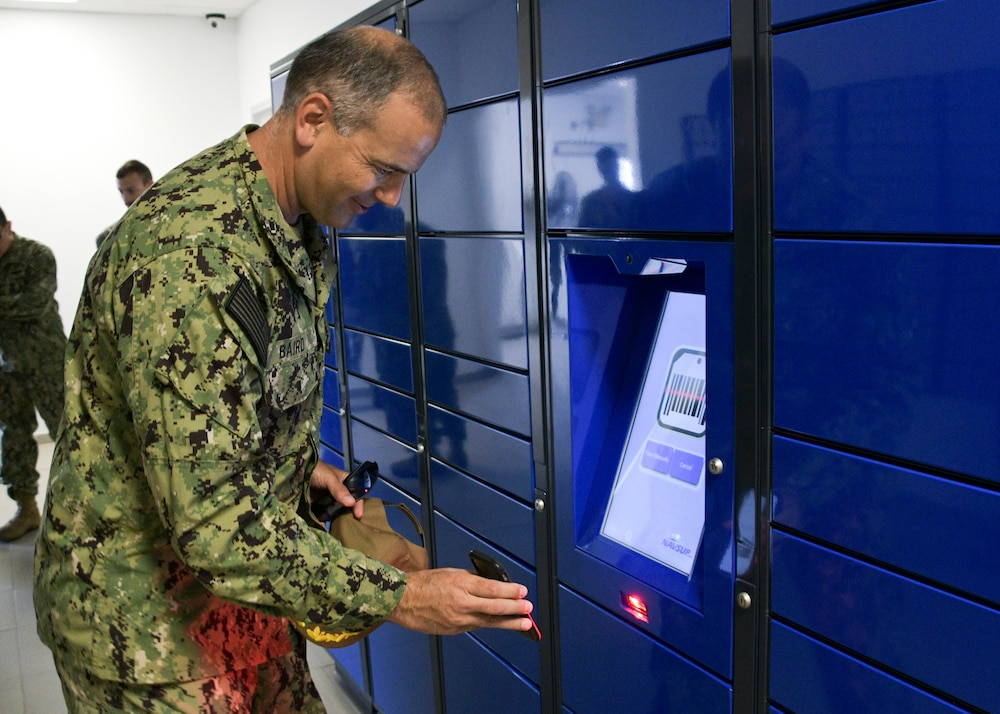 NAVSTA Rota's Post Office Installs Intelligent Lockers