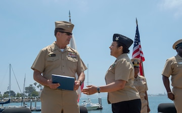 Petty Officer Retires from Navy Reserve after 22 Years of Service