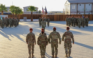 Task Force Sinai Welcomes New Commander
