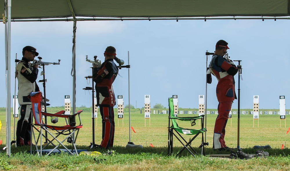 Army Soldiers win Three-Position and Prone Team Championships at CMP Smallbore Nationals
