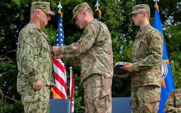 Assuming responsibility: USEUCOM welcomes new senior enlisted leader