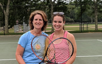 NUWC Division Newport family finds its work/life balance on the tennis courts