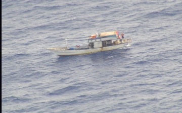 Audio: Coast Guard, partners rescue 8 from missing fishing vessel in the Pacific north of Palau