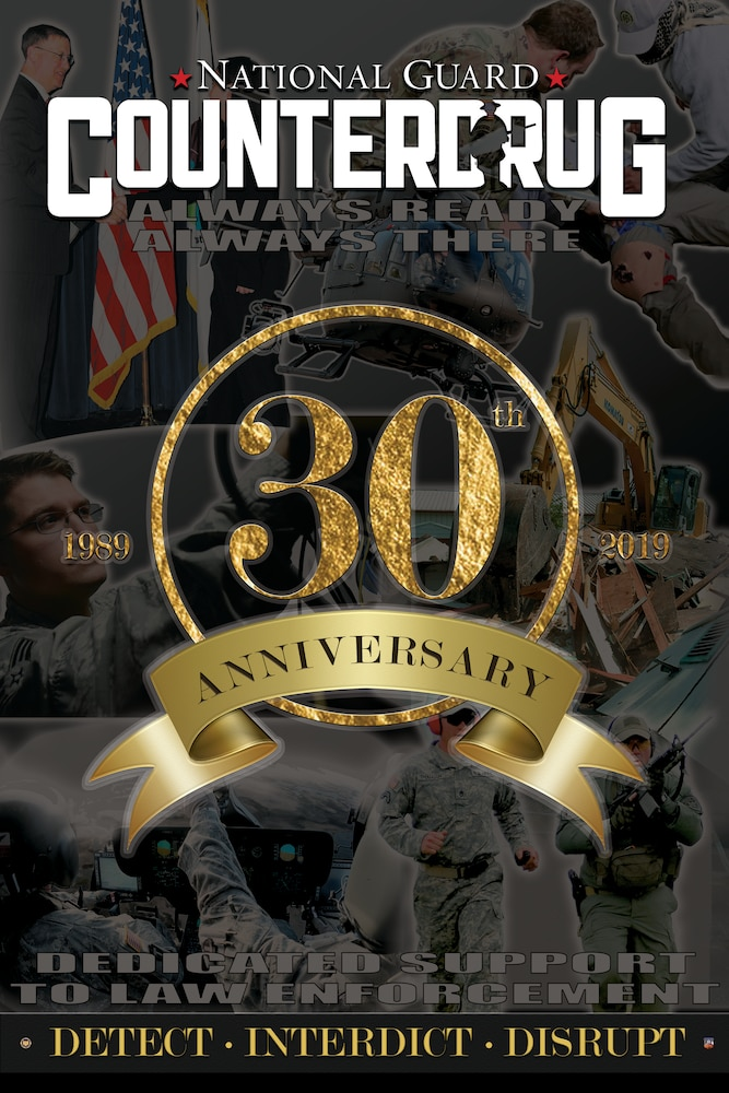National Guard Counterdrug Program celebrates 30 years, historical milestones