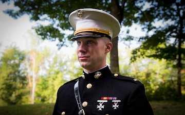 Boston native utilizes Marine Corps Enlisted Commissioning Program to become Marine officer