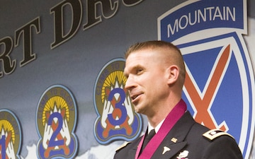 10th Mountain Division Surgeon Inducted Into Order Of Military Medical Merit