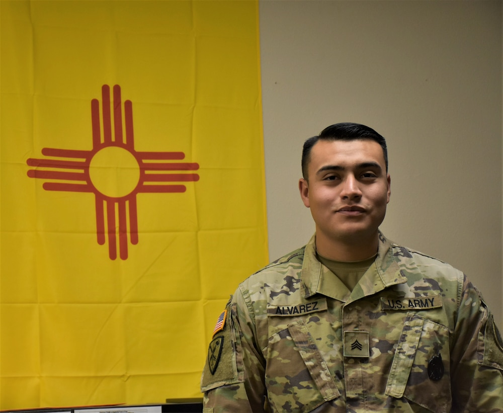 Native American Soldier returns home to help recruiting mission